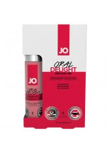System JO Oral Delight Arousal Gel Strawberry 1oz