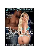 ZT Blow Ups Interracial Cuckold Doll Set with Movie Download