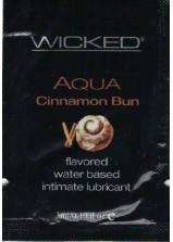 Wicked Aqua Cinnamon Bun 3ml Sachet