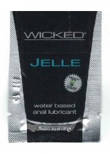Wicked Jelle Anal Lubricant 3ml Sachet