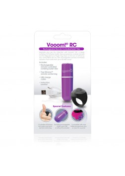 Screaming O Charged - Remote Control Vooom Bullet Purple