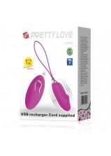 Pretty Love Julia Vibrating Love Egg - 362W-4