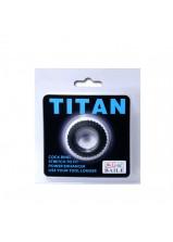 Titan Cock Ring Black - 144