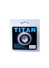 Titan Cock Ring Black - 144