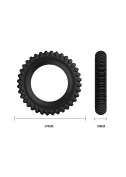 Titan Cock Ring Set Black - 148