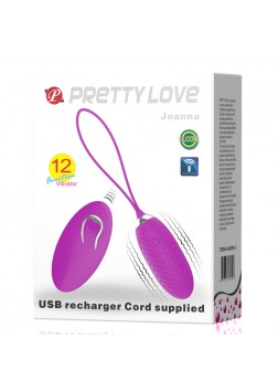 Pretty Love Joanna Vibrating Love Egg - 362W-5