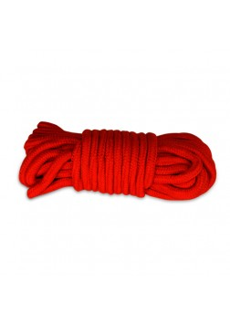 Lovetoy Fetish Bondage Rope Red