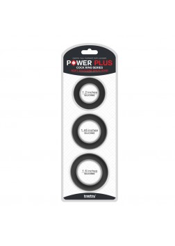 Lovetoy Power Plus Soft Silicone Snug Rings