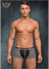 Male Power - Reversible Mini Short Grey/Black
