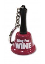 Ring For Wine Keychain