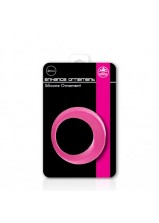 Enhance Ornament Cock Ring Pink 42mm