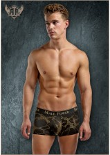 Male Power - Black Gold Mini Short