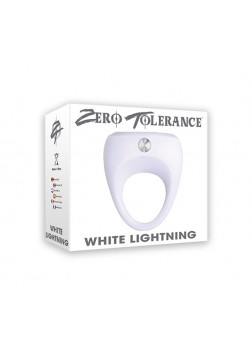Zero Tolerance White Lightning Silicone Cock Ring