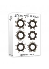 Zero Tolerance Cockstars 6pc Cock Ring Set