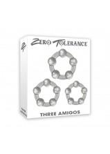 Zero Tolerance Three Amigos Cock Ring Set