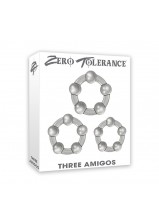 Zero Tolerance Three Amigos Cock Ring Set