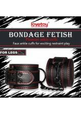 Lovetoy Pleasure Ankle Cuffs