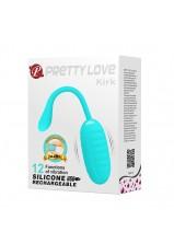 Pretty Love Kirk Vibrating Love Egg - Green - 654