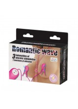 Pretty Love Romantic Wave Nipple Clamps - Hot Pink