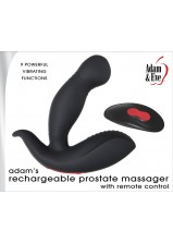 A&E Adams Rechargeable Prostate Massager with Remote