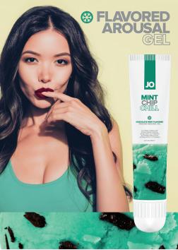 JO Mint Chip Chill Flavored Clitoral Stimulant 10ml