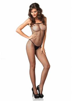 Leg Ave - Industrial Net Bodystocking 8375 - Black