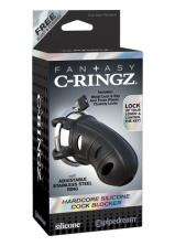 Fantasy C-Ringz Hardcore Silicone Cock Blocker