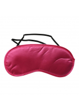 Sex & Mischief Satin Blindfold - Hot Pink