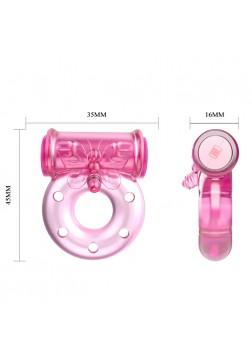 Pretty Love Vibrator and Condom - 081