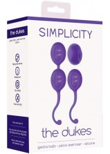 Simplicity The Dukes Geisha Balls - Purple