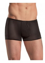 Male Power - Stretch Mesh Pouch Short Black