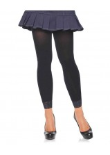Leg Ave - Opaque Footless Tights 7881 Black