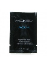 Wicked Aqua Water Based Unscented Sachet 3ml
