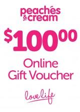 $100 Online Gift Voucher