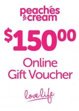 $150 Online Gift Voucher