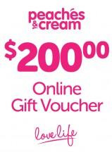 $200 Online Gift Voucher