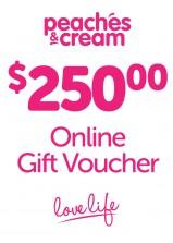$250 Online Gift Voucher