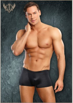 Male Power - Pouch Short - Black