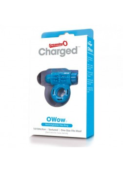 Screaming O Charged - O Wow Cockring - Blue