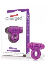 Screaming O Charged - O Wow Cockring - Purple