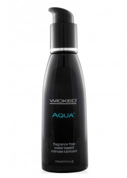 Wicked Aqua Water Based Unscented 120ml