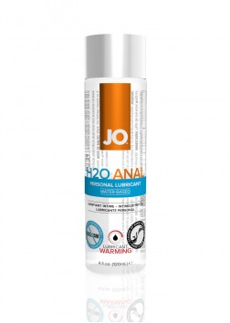 System Jo H2O Warming Anal Lube 120ml