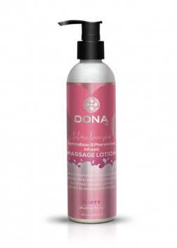 DONA Scented Massage Lotion - 235ml - Flirty Blushing Berry