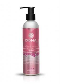 DONA Scented Massage Lotion - 235ml - Flirty Blushing Berry