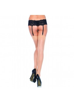 Leg Ave - Sheer Backseam Stockings Nude 1000 - OS