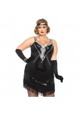 Leg Ave - Glamour Flapper Plus Size 85474