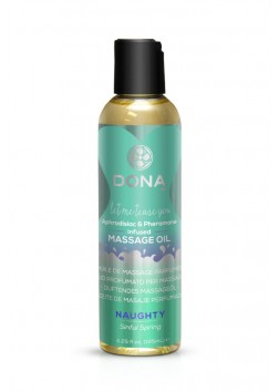DONA Scented Massage Oil - 125ml - Naughty Sinful Spring