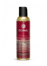 DONA Kissable Massage Oil - 125ml - Strawberry Souffle