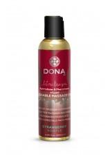 DONA Kissable Massage Oil - 125ml - Strawberry Souffle