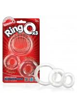 Screaming O - Ring O 3 pack Clear